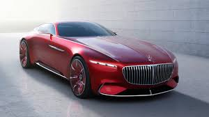 Merceses Vision Maibach- elrctric cars future wireless